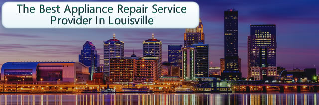 Schedule your appliance service appointment in Louisville today.